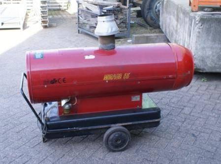 тепловая пушка на дизельном топливе