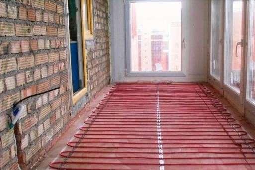 Установка теплого пола на балконе под ковролин - что выбрать?