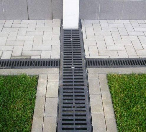 Желоб бетонный для стока воды