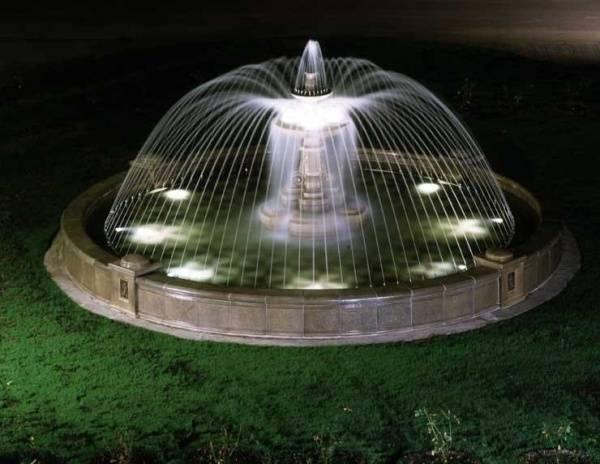 Дачный фонтан своими руками
