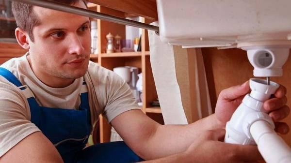 Устройство сифона для раковины на кухне