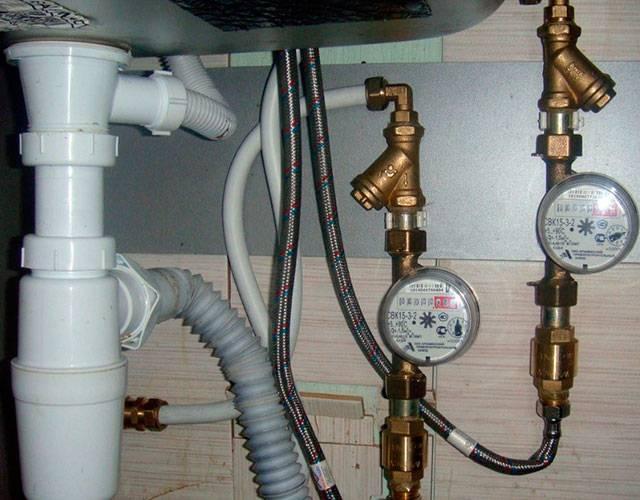 Обратный клапан для счетчика воды