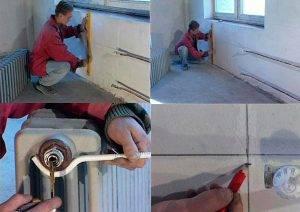 Ремонт отопления в доме
