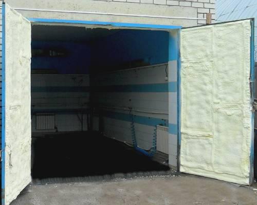 Уплотнитель для ворот гаража