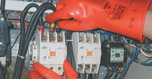 Электробезопасность правила