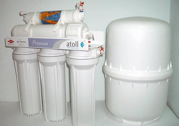 Фильтры под мойку для очистки воды