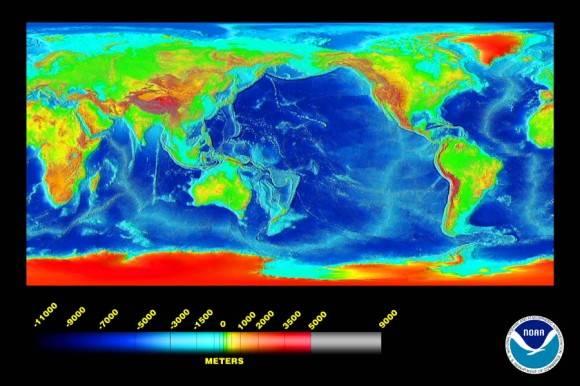 Онлайн карта глубин