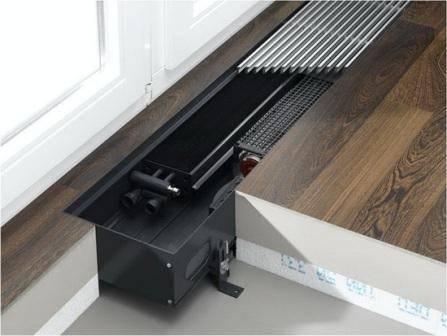 Радиатор отопления в пол