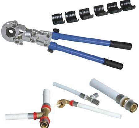 Инструмент для опрессовки труб