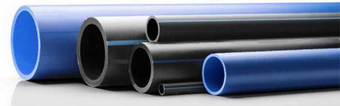 Диаметры пластиковых труб для водопровода таблица