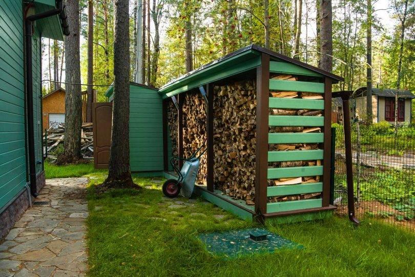 Для дров подставка