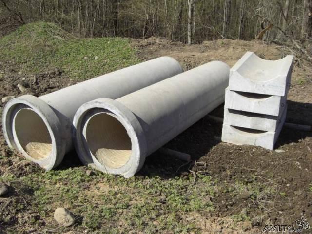 Бетонные изделия для канавы