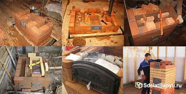 Печь для бани кузнецова