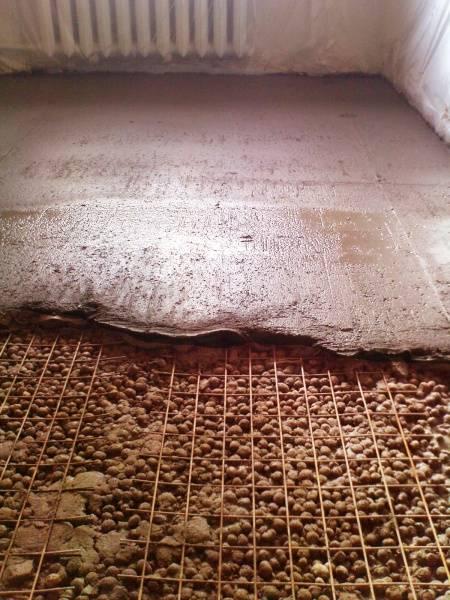 Утепление готового деревянного пола