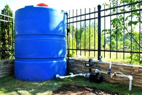 Система для полива из бочки керхер