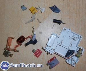 Выбор автоматического выключателя по току нагрузки