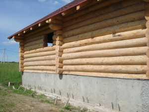 Утепление цоколя деревянного дома снаружи