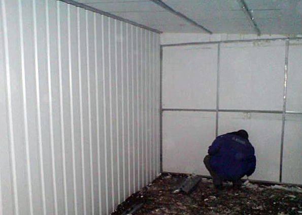 Утепление гаража снаружи