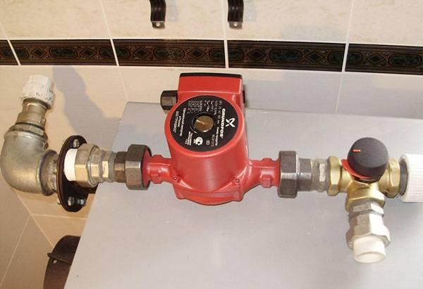 Автоматическая подпитка системы отопления
