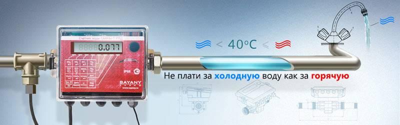 Электронные счетчики на воду