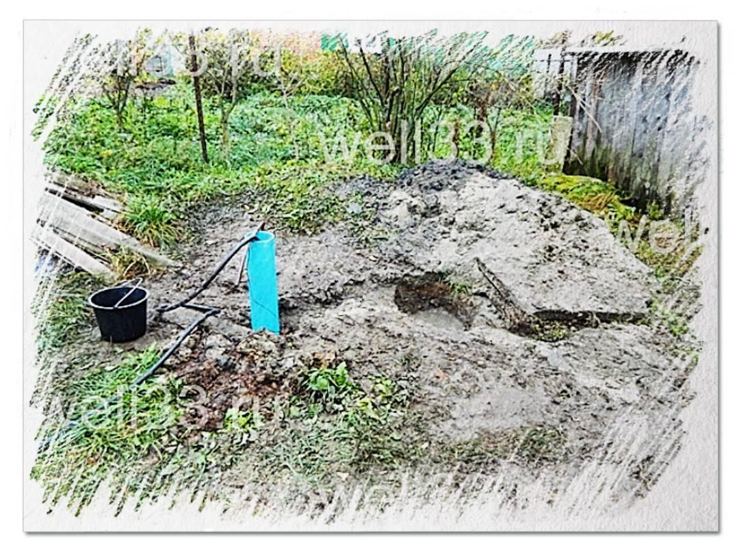 Скважина на садовом участке
