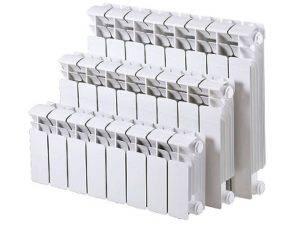 Биметаллические батареи как рассчитать количество секций