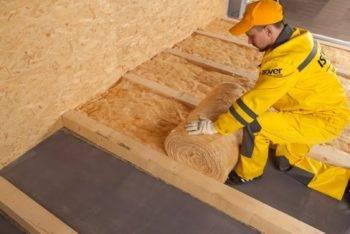 Шумоизоляция перекрытий в деревянном доме