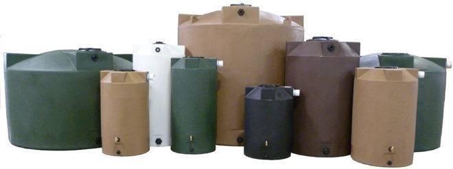 Металлическая емкость для канализации