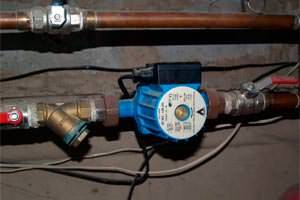 Подключение насоса для повышения давления воды