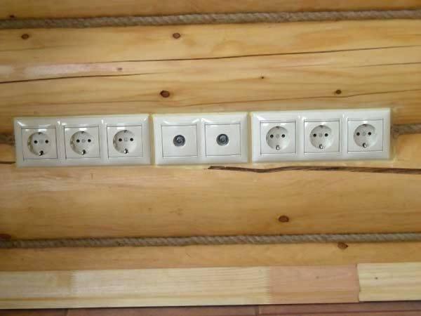 Проводка в деревянном доме пуэ
