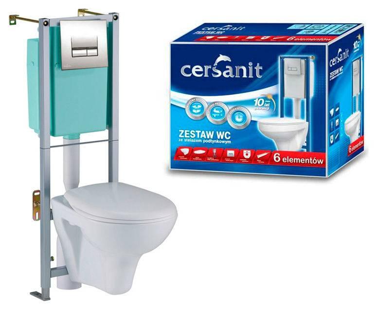 Подвесной туалет с инсталляцией