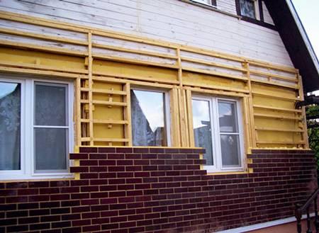 Теплоизоляционные панели для наружных стен