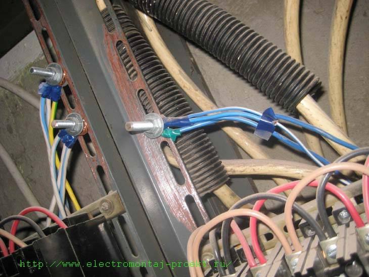 Маркировка электрических щитов