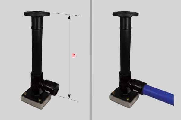 Соединение металлической трубы с полипропиленовой