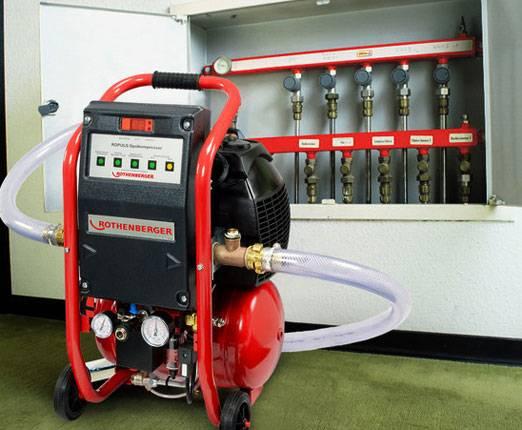Промывочный компрессор