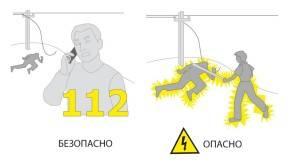 Первая помощь при ударе электрическим током