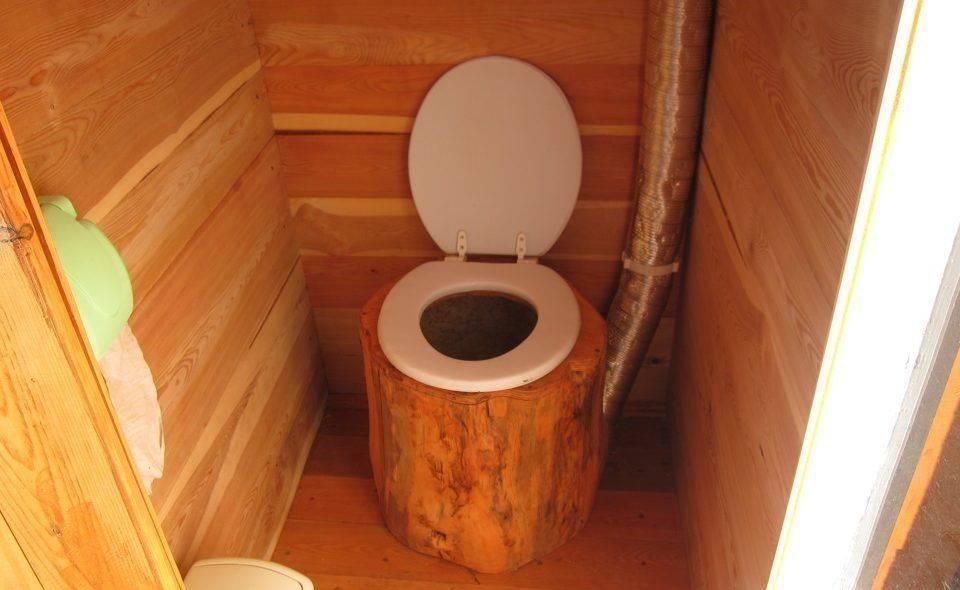 Туалет из бочки на даче своими руками