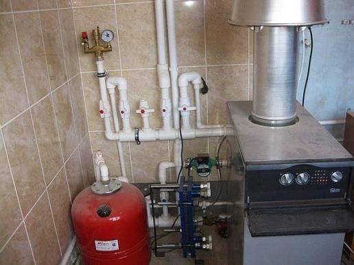 Жидкость в отопление