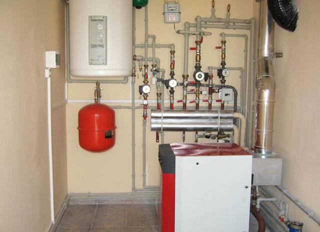 Замена котла отопления в частном доме