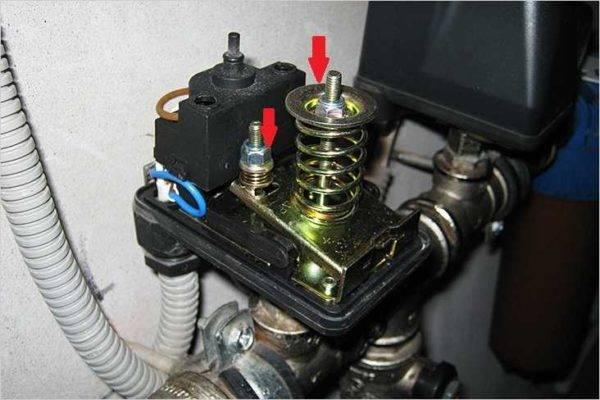 Реле контроля давления воды