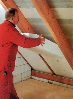 Утеплить крышу дома