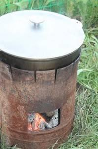 Самодельная печь для казана