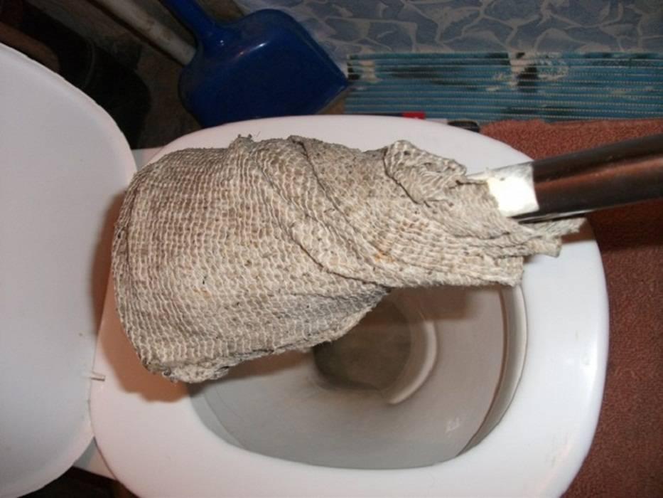 Очистка труб канализации