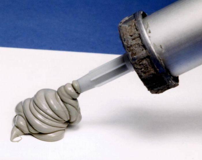 Сколько сохнет силиконовый герметик момент