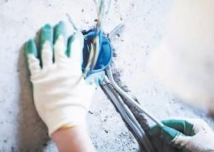 Глубина подрозетника для бетона