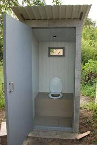 Домик для туалета