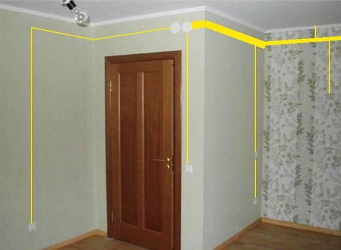 Прибор для определения проводки в стене