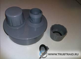 Обратный клапан на канализацию 50 мм