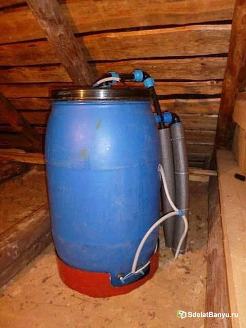 Емкость для воды под давлением