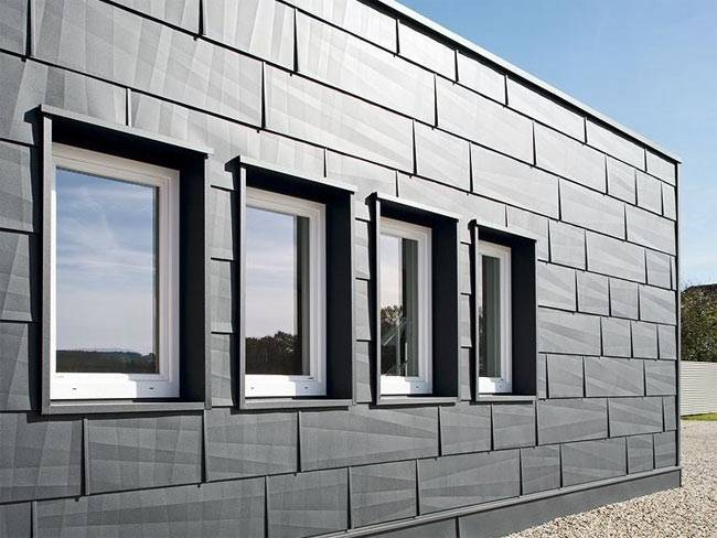 Утепленные фасадные панели для наружной отделки дома
